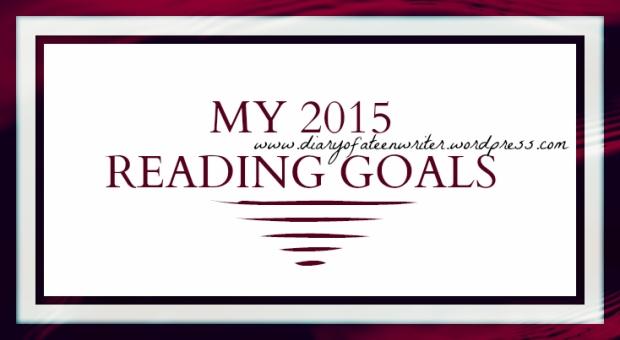 My 2015 Reading Goals